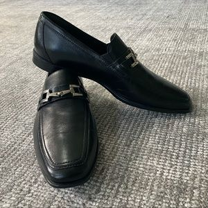 Bruno Magli Classic Bit Leather Loafers